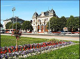 Bahnhof von Altenburg