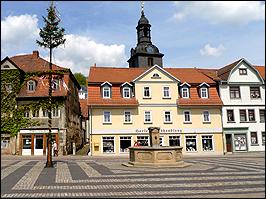 Marktplatz Bad Blankenburg