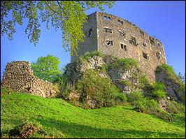 Ruine der Burg Liebenstein