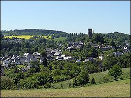 Blick auf Bad Lobenstein