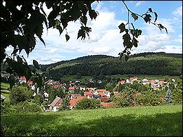 Ausblick auf Bermbach