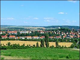 Blick auf Arnstadt