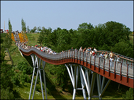 Drachenschwanzbrücke in Gera