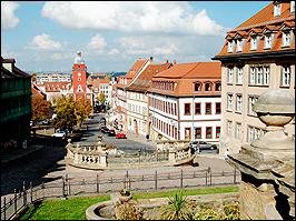 Blick auf Gotha