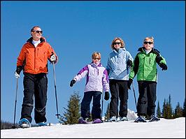 Skiwandern mit Familie in Oberhof