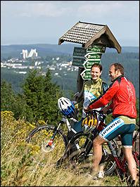 Radwandern in Oberhof
