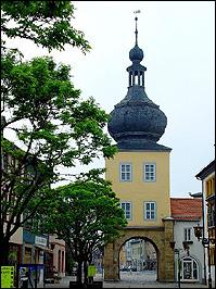 Saaltor in Saalfeld