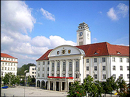 Rathaus von Sonneberg