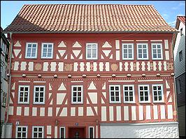 Fachwerkhaus in Zella-Mehlis