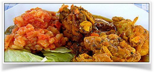 Huhn mit Safran