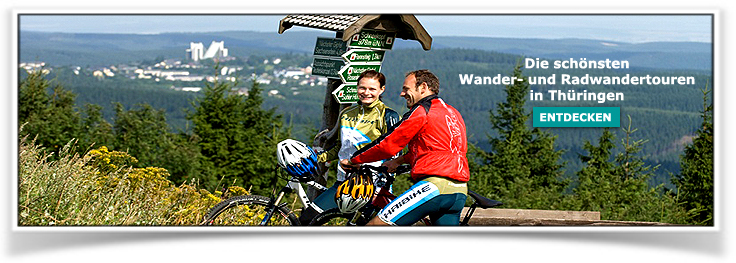 Wandern Radwandern Thüringen