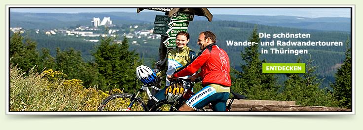 Wandern Radfahren Thüringen