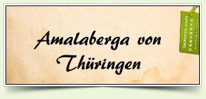 Amalaberga von Thüringen