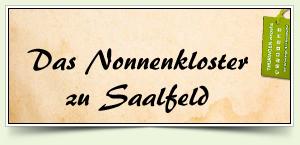 Das Nonnenkloster zu Saalfeld