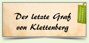 Der letzte Graf von Klettenberg