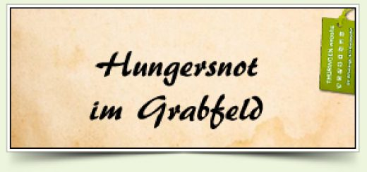 Hungersnot im Grabfeld