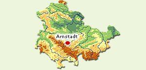 Lage_Arnstadt