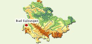 Lage_Bad Salzungen