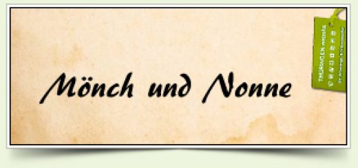 Mönch und Nonne