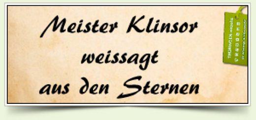 Meister Klinsor weissagt aus den Sternen