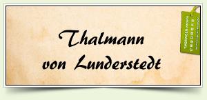 Thalmann von Lunderstedt