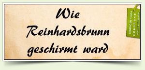 Wie Reinhardsbrunn geschirmt ward