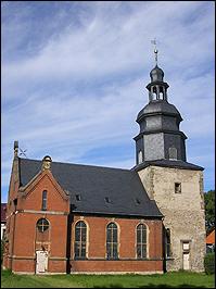 Kirche Bösleben-Wüllersleben in Thüringen