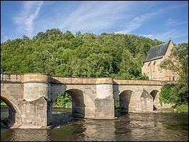 Brücke Creuzburg Thüringen